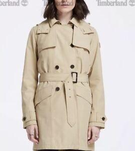 Up Raincoat Coat Trench xl Timberland Størrelse Tan Damejakke Vandtæt Button 1q0UaZ6wH