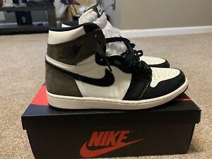 Jordan 1 Retro High OG Brown Dark Mocha Size 12