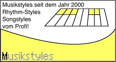 GIGA PACK VOL 01 2000 Titelbezogene SONG STYLES für YAMAHA TYROS 1 /& 2 PSR-S900