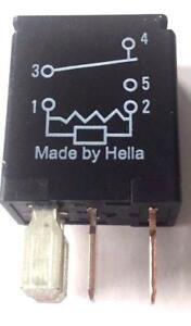 KFZ Mini Micro Relais Wechsler HELLA 4rd965453-01 12v 20a 5-pol