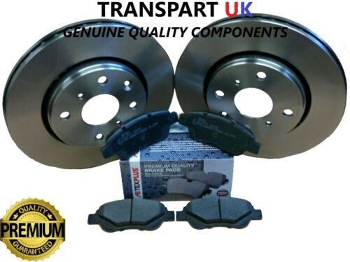 FRONT BRAKE DISCS AND BRAKE PADS FITS CITROEN C1 PEUGEOT 107 108 TOYOTA AYGO