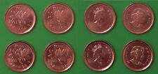 2003 Canada Complete 4-Penny Set Each From Mint Roll