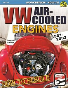 VOLKSWAGEN ENGINES REBUILD SHOP REPAIR HOW TO MANUAL VW SERVICE AIR COOLED
