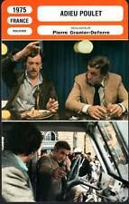ADIEU POULET - Ventura,Dewaere (Fiche Cinéma) 1975 - The French Detective
