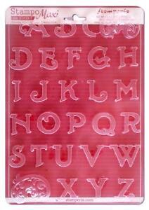 Details Zu Giessform A4 Buchstaben Flexibler Kunststoff Fur Beton Giessmassen Ua Stamperia