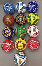 Barcelona Soccer Balls Official Size 4 & Weight 32 Panels Good For Practice