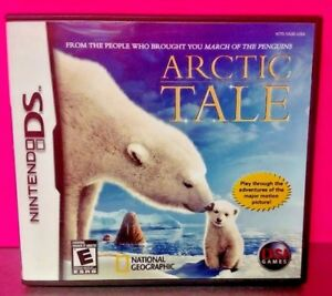 Artic-Tale-Nintendo-DS-DS-Lite-3DS-2DS-Game-Complete-Tested