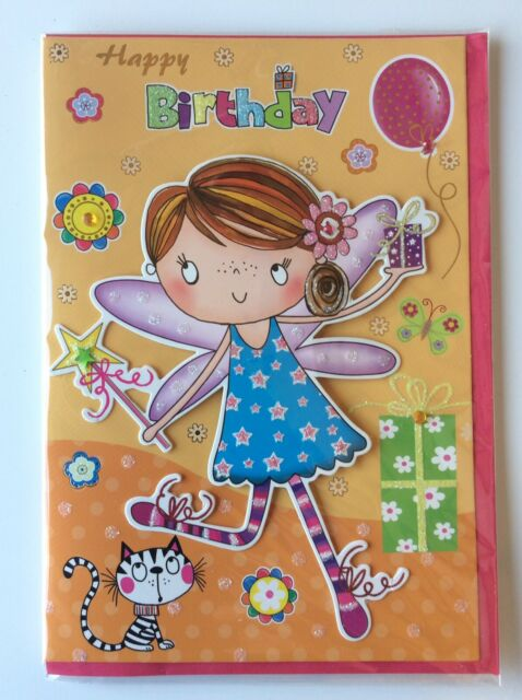Superb Handcrafted Gr8 3D Birthday Card Kids Girls Girl Diva Quality Funny Birthday Cards Online Eattedamsfinfo