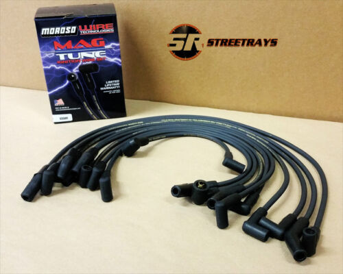 9359M Moroso Mag-Tune Black Spark Plug Wires Ford Mustang 5.0L V8 302 77-83 V8