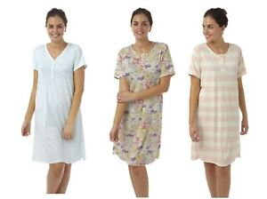 Womens-ladies-nightie-nightdress-lightweight-plus-size