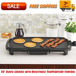 20-034-Black-Griddle-with-Adjustable-Temperature-Control-Dishwasher-Safe-Kitchen