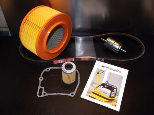 Wartungssatz Luftfilter Keilriemen Ölfilter VVD passend für Wacker DPU 6055 Info