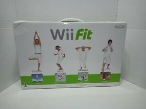Nintendo-Wii-Fit-Balance-Board-Bundle-with-Wii-Fit-and-Fit-Plus-Tested-Working