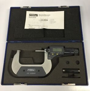 FOWLER-ELECTRONIC-MICROMETER-PART-NUMBER-54-850-860