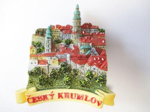 Krumau Moldau Böhmen Poly Magnet Krumlov Altstadt Souvenir Tschechien