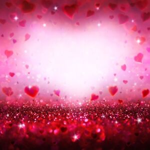 image is loading red glitter photography backgrounds 6x6ft valentine 039 s - Valentines Backdrops