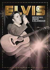 Elvis-Presley-A3-2020-Official-Wall-Calendar