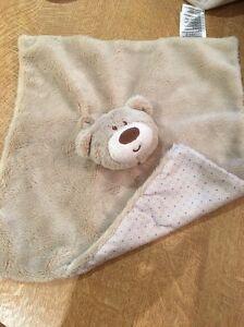 Plush Soft Baby Comforter Teddy Bear Whale Elli /& Raff Baby Soft Blanket Comfort