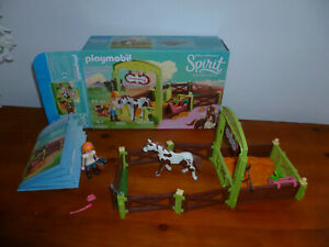 PLAYMOBIL-Spirit-9480-Abigal-et-boomerang-Complet