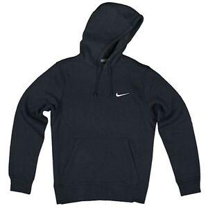 the best attitude a1249 7972b Nike Swoosh à Capuche Polaire Capuche Pull Capuche Sweat Veste Bleu ...