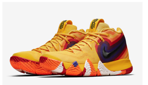 1d6d273cecd3 Nike Kyrie 4 Decade Pack 70 s Yellow Multicolor Mens s Size 9 Sold ...