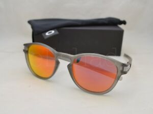 488c870bde Oakley LATCH (OO9265-15 53) Matte Grey Ink with Ruby Iridium Lens ...