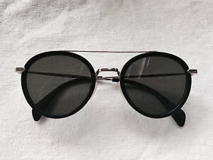 3d8916cf412 Image is loading womens-celine-41423-S-BLACK-AND-GOLD-sunglasses