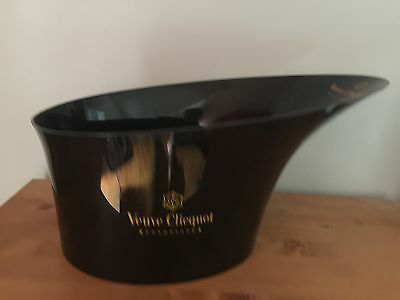 Champagne Veuve Clicquot Ponsardin Ice Bucket Bowl Vasque LED Base NEW in BOX
