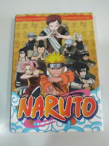 Naruto-Edizione-Integra-Y-Senza-Censura-Episodi-26-50-5-X-DVD-Spagnolo-Japan