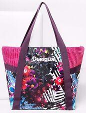 DESIGUAL Bolsa Shopper Aloha - Sport - Bag - Tasche - Sac - Nuevo.