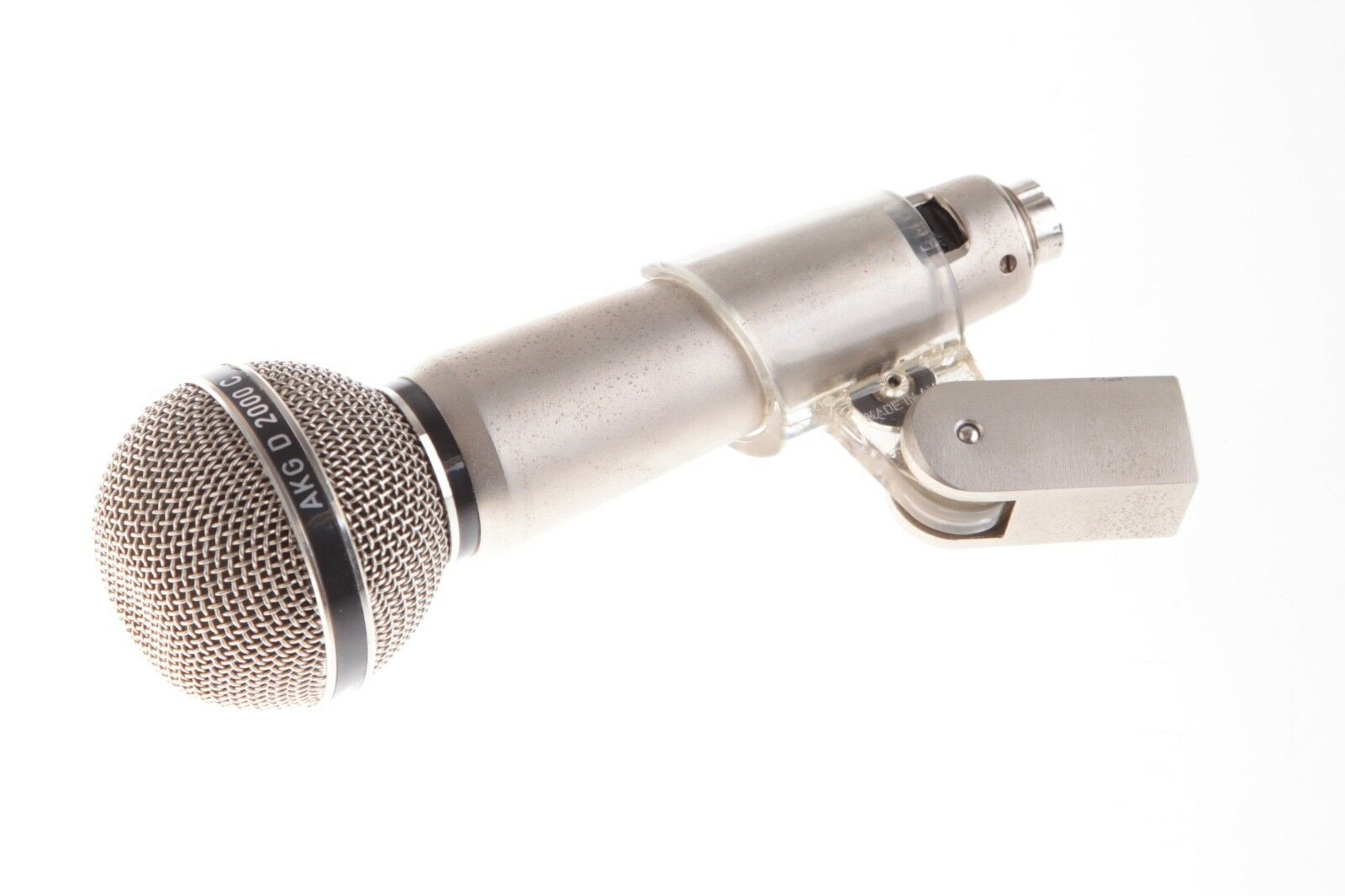 AKG D2000 C dynamic Vintage Microphone for live vocals fully function