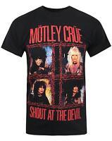 Official Motley Crue Shout At The Devil Men's T-Shirt