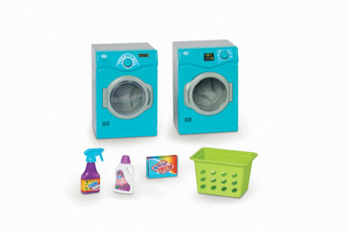 "6 Piece Laundry Room Play Set Dollhouse Furniture for 18/"" Dolls Kids Best Gift"