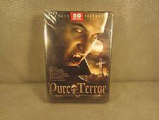 Pure Terror 50 Classic Horror Movies  SEALED