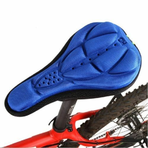 New Bike Bicycle Cycle Extra Comfort Cushion Cover for Saddle Seat Comfy