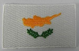 Zypern-Aufnaeher-gestickt-Flagge-Fahne-Patch-Aufbuegler-6-5cm-neu
