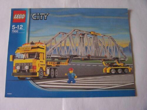 Instruction Nr LEGO® Bauanleitung 7900