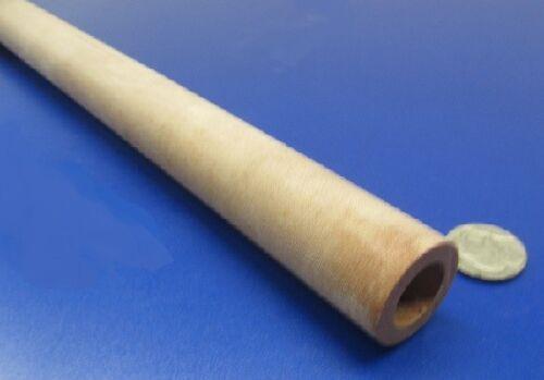 "2014 Garolite Phenolic Nema LE Linen Tube 1.0/"" OD x 5//8/"" ID x 3//16/"" Wall"