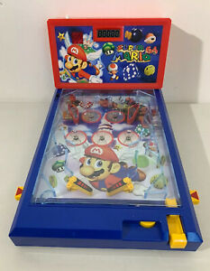Vintage-Nintendo-Super-Mario64-Toy-Pinball-Game-2003-Scientific-Toys-Ltd-RARE-VG