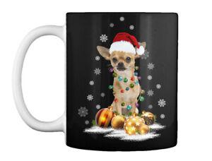 Fashionable Chihuahua Christmas Dog Light Gift Coffee Mug Gift Coffee Mug