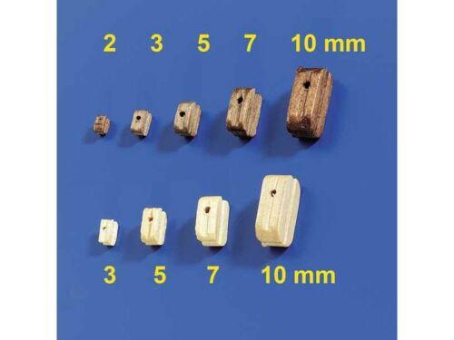 60957 Krick blocs 7mm Hell 10 pièces