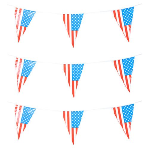 USA Triangle Party Bunting America American Various Lengths Available