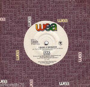 INXS-I-Send-A-Message-Mechanical-1984-OZ-45