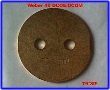 VALVOLA A FARFALLA 79 ° 30', Weber Carburatore Doppio, 40 Dcoe/Dcom