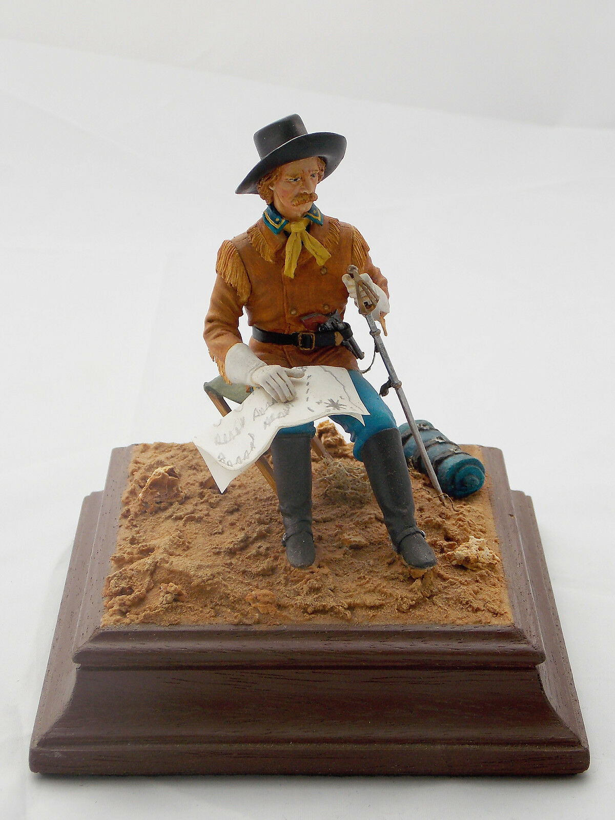 Figurine collection miniature yankee officer verlinden northern secession