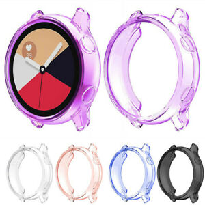 Clear-TPU-Protector-Watch-Case-Cover-Shell-For-Samsung-Galaxy-Watch-Active-40m