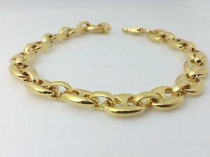 Bracciale oro uomo maglia