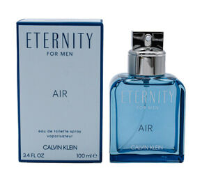 Eternity Air by Calvin Klein 3.4 oz EDT Cologne for Men New In Box