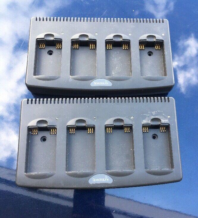 Lot de (2) Spectralink Polycom Quad Chargeur pour Spectralink 8440 8450 8452 2200