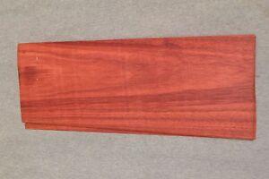 """Blood wood veneer 11 """" x 5 """" x 1/42'' 1 SHEET"""